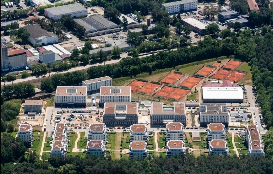 BrunnenViertel Potsdam - Luftbild Gesamtareal