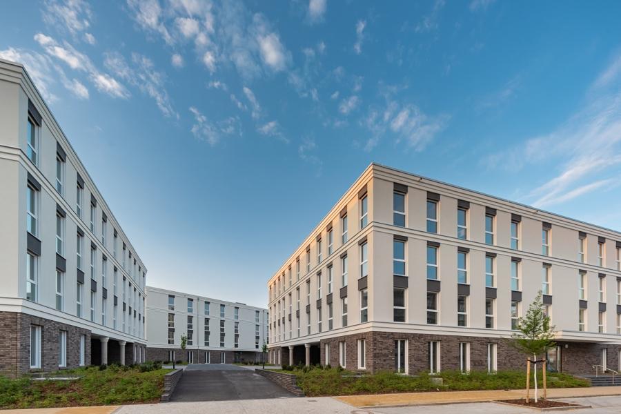 BrunnenViertel Potsdam - Ansicht neues Büroensemble