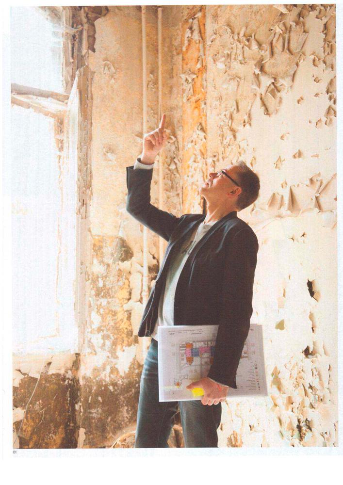 """Refugium Beelitz - """"der fritz"""" Artikel zur Umnutzung von Denkmalen in Beelitz-Heilstätten zu Wohnzwecken, Foto"""