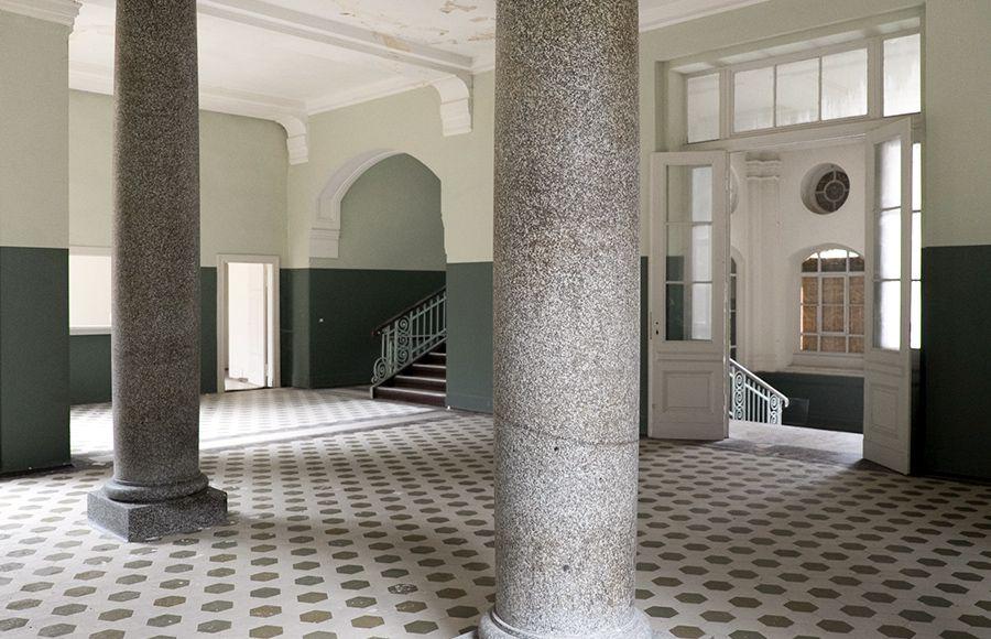 Quartier Beelitz-Heilstätten - Foyer im zentralen Badehaus