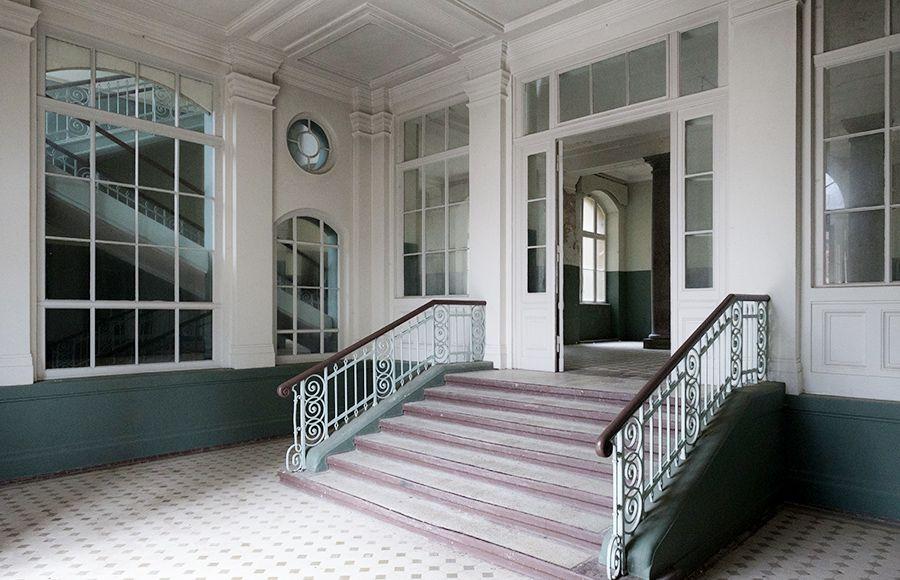 Quartier Beelitz-Heilstätten - Hauptfoyer im zentralen Badehaus