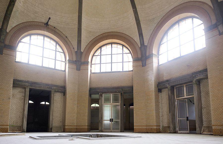 Quartier Beelitz-Heilstätten - Kuppelsaal im zentralen Badehaus