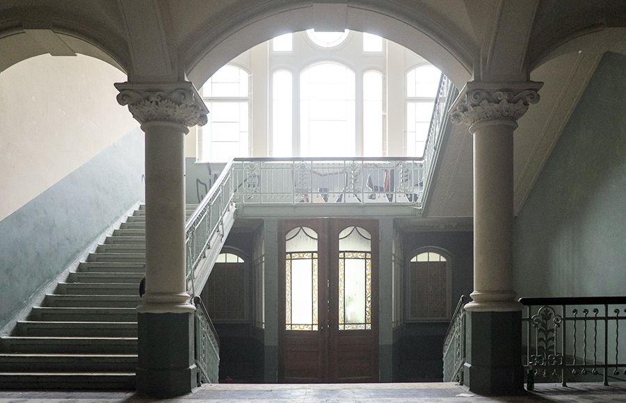 Quartier Beelitz-Heilstätten - Foyer im historischen Männersanatorium
