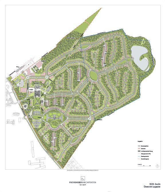 Quartier Beelitz-Heilstätten - Gesamtlageplan der Entwicklung