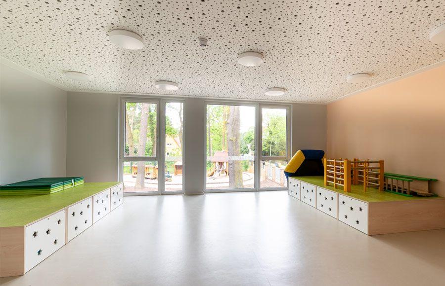 """Kindergarten am Filmpark - Gruppenraum in der Kita """"Ole Lukoie"""""""