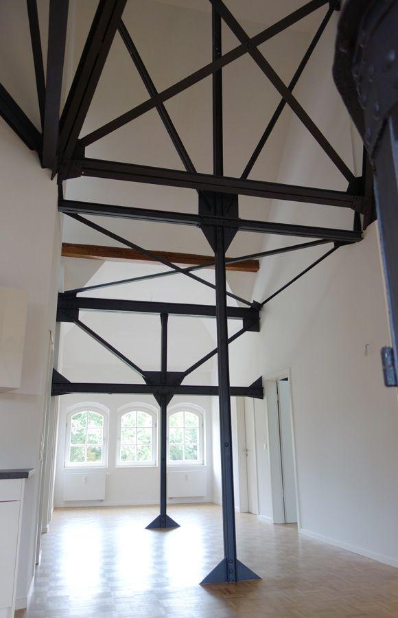Refugium Beelitz - Flur einer Mieteinheit im historischen Küchengebäude nach Sanierung