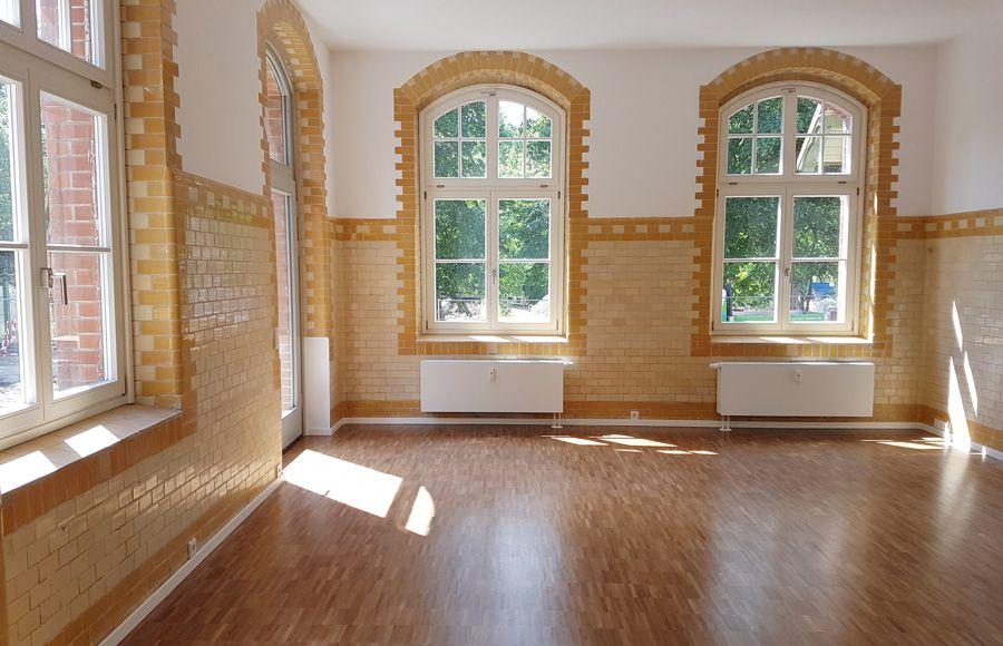 Refugium Beelitz - Innenansicht einer Mieteinheit im historischen Küchengebäude nach Sanierung