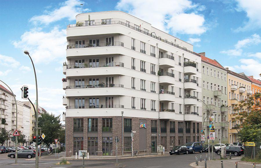 Thaerstraße - Straßenansicht nach Fertigstellung