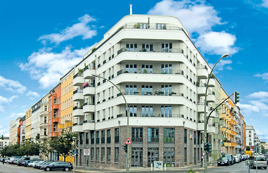 Thaerstraße - Straßenansicht frontal nach Fertigstellung