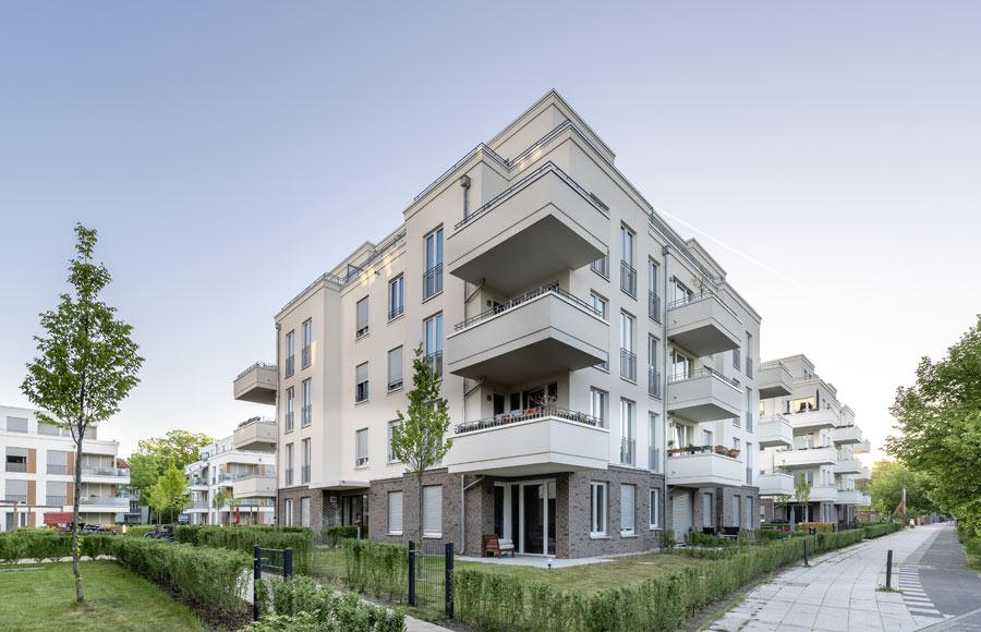Villen am Filmpark Babelsberg - Eckansicht einer Stadtvilla