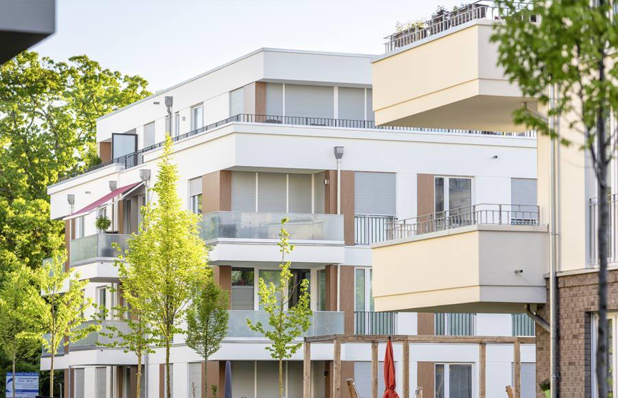 Villen am Filmpark Babelsberg - zwei unterschiedlich gestaltete Stadtvillen