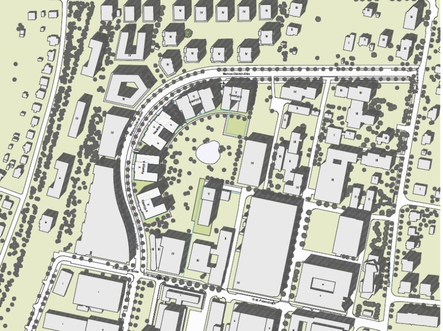 Bogen Babelsberg Lageplan