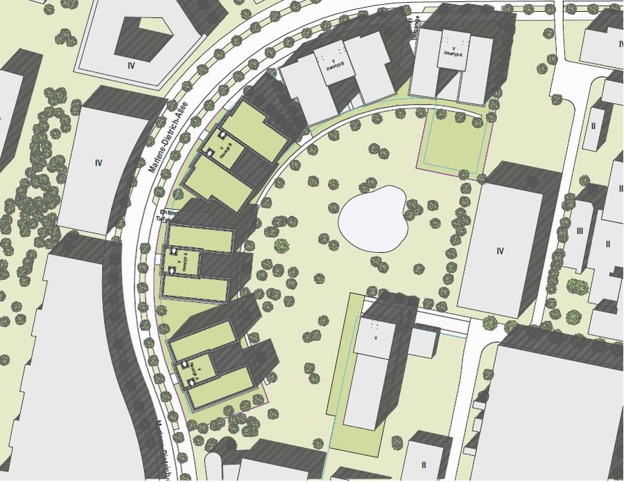 Bogen Babelsberg Lageplan Ausschnitt