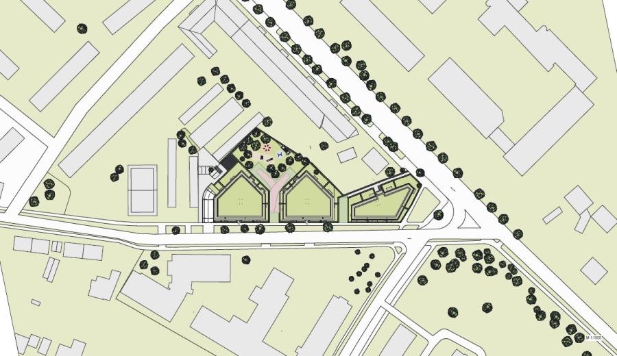 Elbestraße 1 Teltow Lageplan