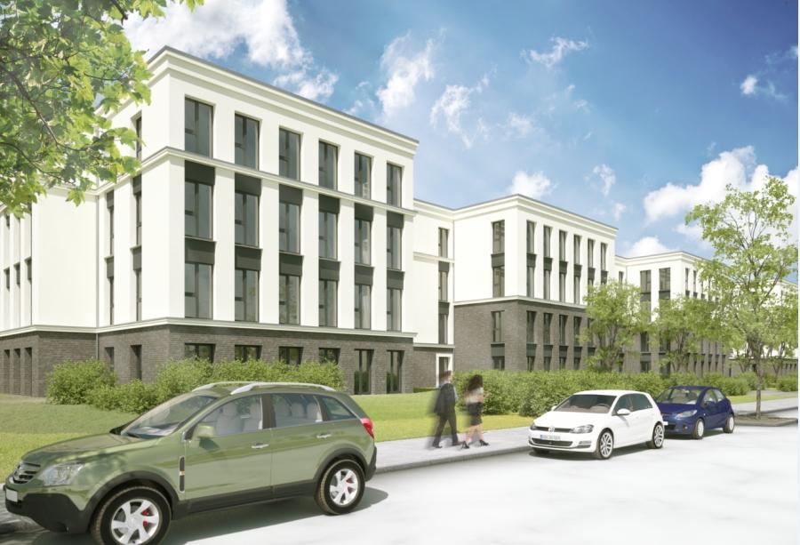 """BrunnenViertel Gewerbe Entwurf """"Bürohaus SAS1"""""""